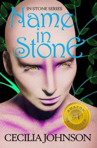 Name in Stone cover Cecilia Johnson Author