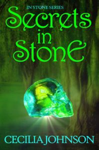 Cecilia Johnson Author Secrets in Stone cover